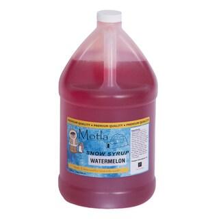 Motla 'Watermelon' Snow Cone Syrup (1 Gallon)