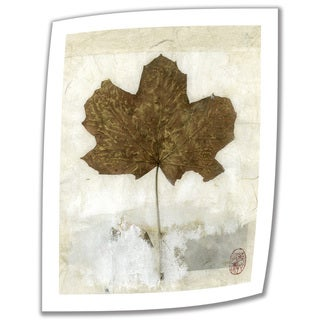 Elena Ray 'Golden Leaf' Unwrapped Canvas
