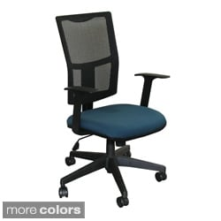 Task Mesh Chair with Black Base