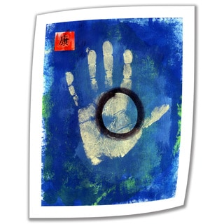 Elena Ray 'Health Hand Print' Unwrapped Canvas