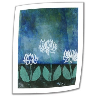 Elena Ray 'Lotus Blossoms' Unwrapped Canvas - Multi