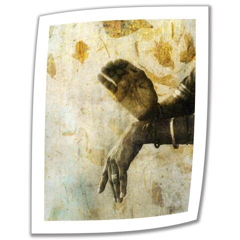 Elena Ray 'Sacred Mudra' Unwrapped Canvas - Multi