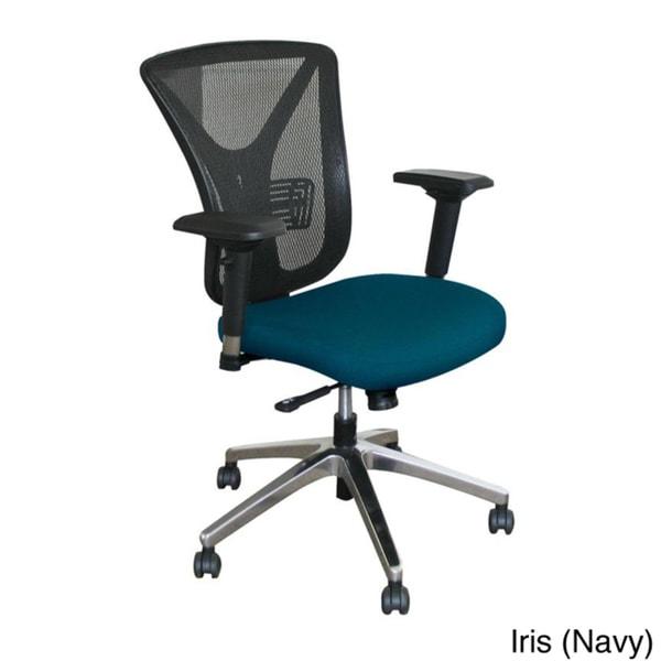 Executive Mesh Tilting Chair with Aluminum Base