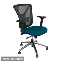 Executive Mesh Tilting Chair with Aluminum Base