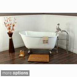 slipper cast iron 53inch clawfoot bathtub - Claw Foot Tubs