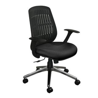 Flex Back Wave Chair with Aluminum Base