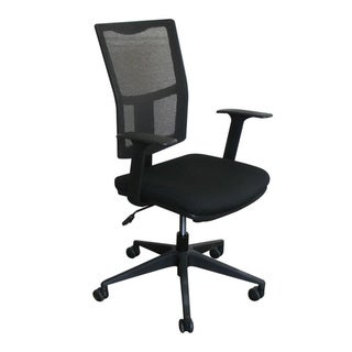 Marvel Black Mesh Back Task Office Chair