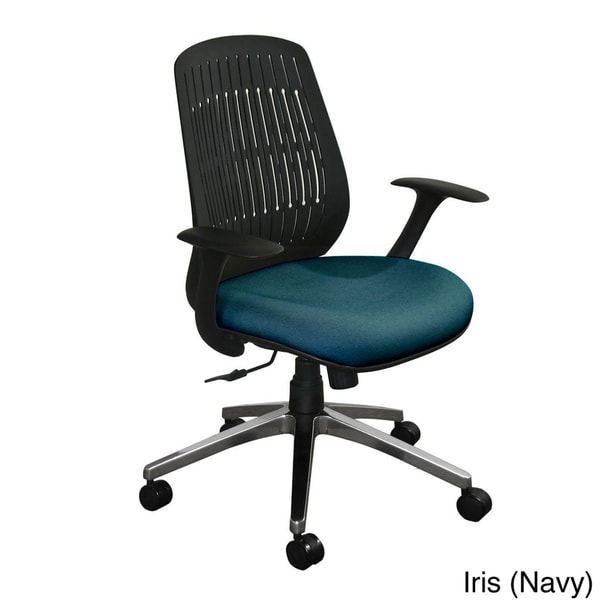 Marvel Flex Back Wave Aluminum Base Office Chair
