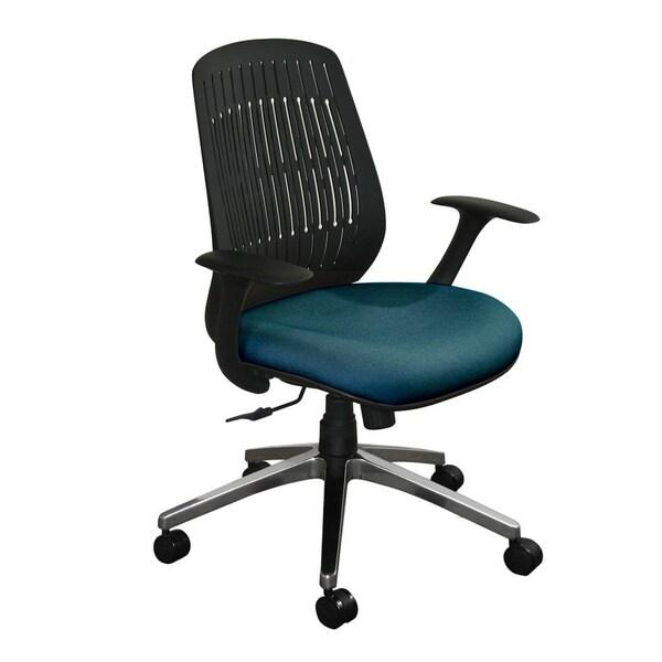 Marvel Flex Back Wave Aluminum Base Office Chair