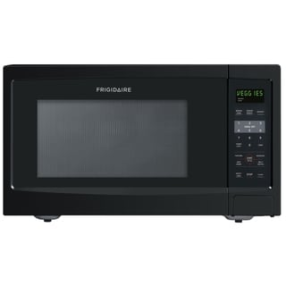 Frigidaire 1.6 Cubic Foot Black Countertop Microwave
