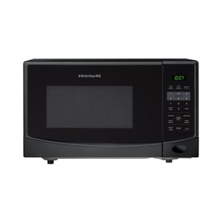 Frigidaire 0.9 Cubic Foot Black Countertop Microwave
