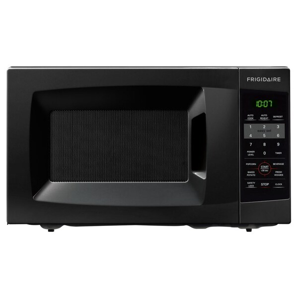 Shop Frigidaire 0 7 Cu Ft Black Countertop Microwave