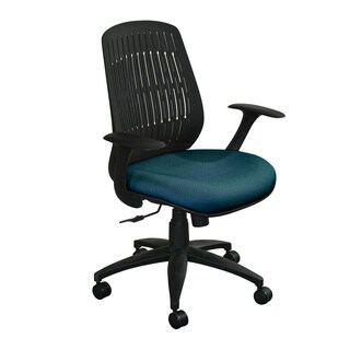 Marvel Flex-Back Adjustable Wave Chair with Black Base