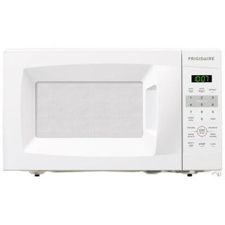 Frigidaire 0 7 cu ft white countertop microwave free for Frigidaire armoire