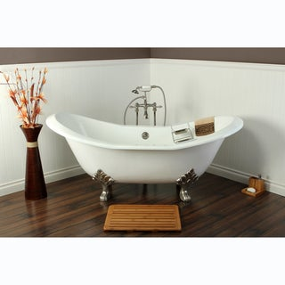 Link to Double Slipper Cast Iron 72-inch Clawfoot Bathtub Similar Items in Bathtubs
