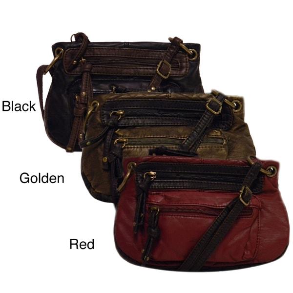 Bueno 'Leah' Satchel Style Crossbody Bag