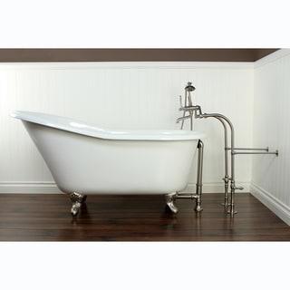 slipper cast iron 60inch clawfoot bathtub