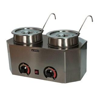 Paragon Pro-Deluxe Warmer Dual Ladle Unit