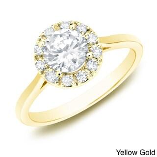The Astoria by Auriya 14k Gold 1/2ct TDW Diamond Ring (H-I, SI1-SI2)