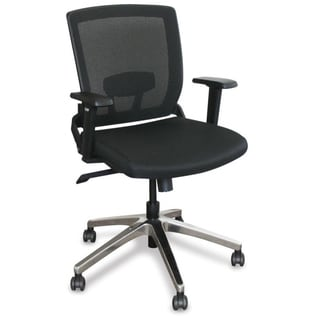 Marvel Operation Mesh Chair with Aluminum Base