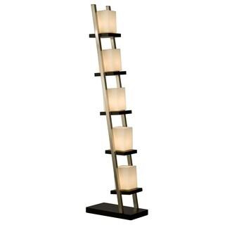 5-Light Ladder Escalier Floor Lamp 61 in. H