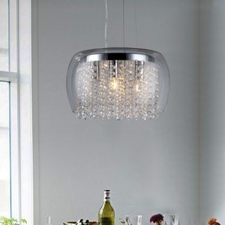 Nereids Chrome Chandelier