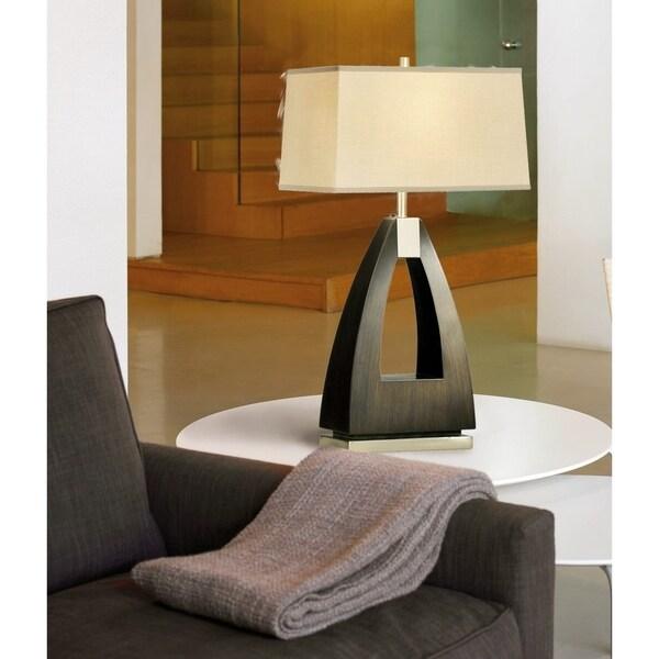 Modern Trina Table Lamp 16 in. H x 10 in. W