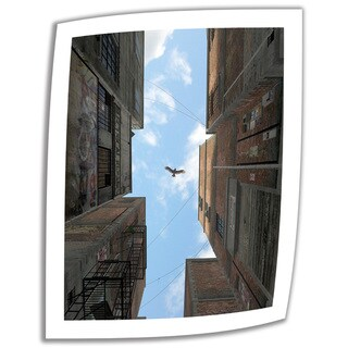 Cynthia Decker 'Afternoon Alley' Unwrapped Canvas