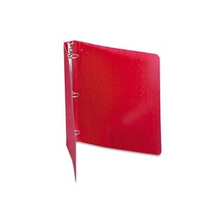 Acco Brands Recycled Executive Red PRESSTEX Round Ring Binder