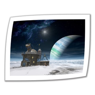 Cynthia Decker 'Observatory' Unwrapped Canvas