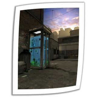 Cynthia Decker 'Phone Booth' Unwrapped Canvas