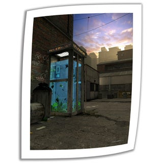 Cynthia Decker 'Phone Booth' Unwrapped Canvas
