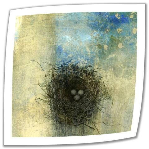 Elena Ray 'Bird Nest' Unwrapped Canvas - Multi