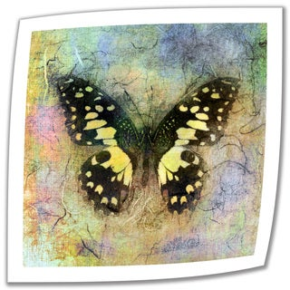 Elena Ray 'Butterfly' Unwrapped Canvas - Multi