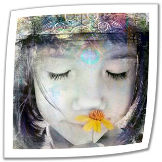 Elena Ray 'Inner Child' Unwrapped Canvas