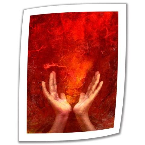 Elena Ray 'Chakra Fire' Unwrapped Canvas - Multi