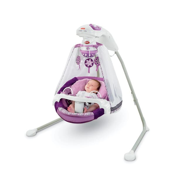 Shop Fisher Price Sugar Plum Starlight Cradle N Swing