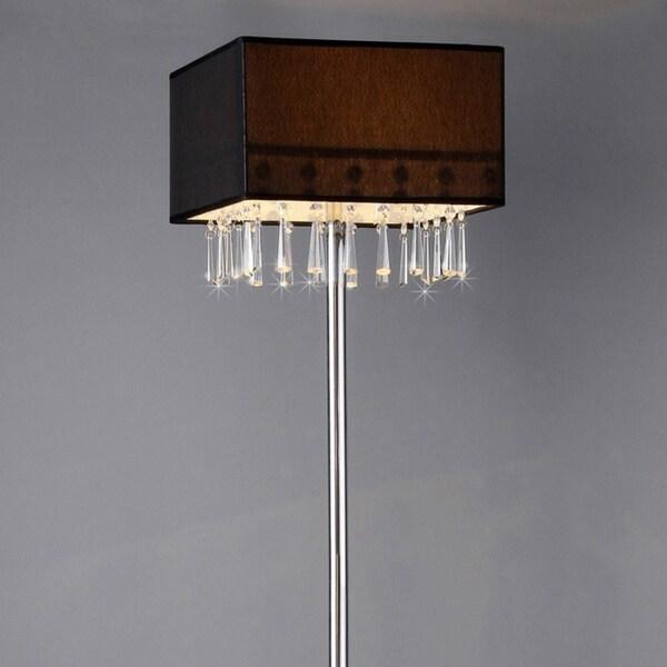 Hyperion Chrome Floor Lamp