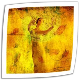 Elena Ray 'Tao' Unwrapped Canvas
