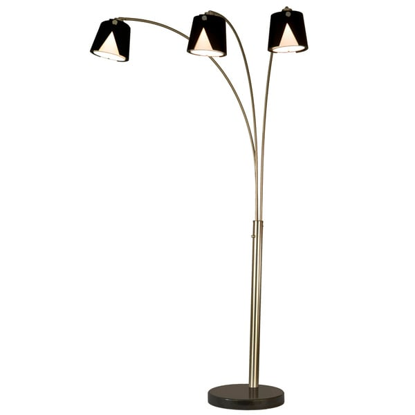 Fold 3-Light Arc Floor Lamp