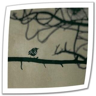 Elena Ray 'Yoga Bird 1' Unwrapped Canvas