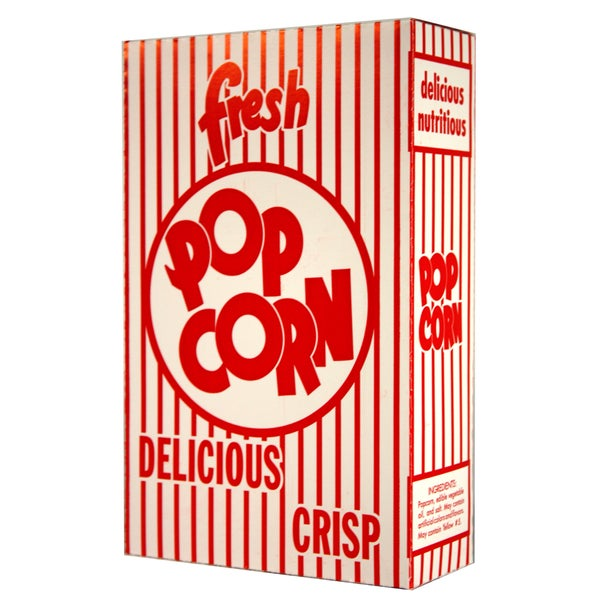 Paragon Large Classic Popcorn Boxes 1.25-ounces (Case of 100)