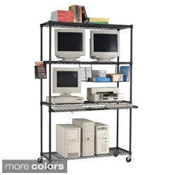 OFM 4818 LAN Station and Mobile Shelf