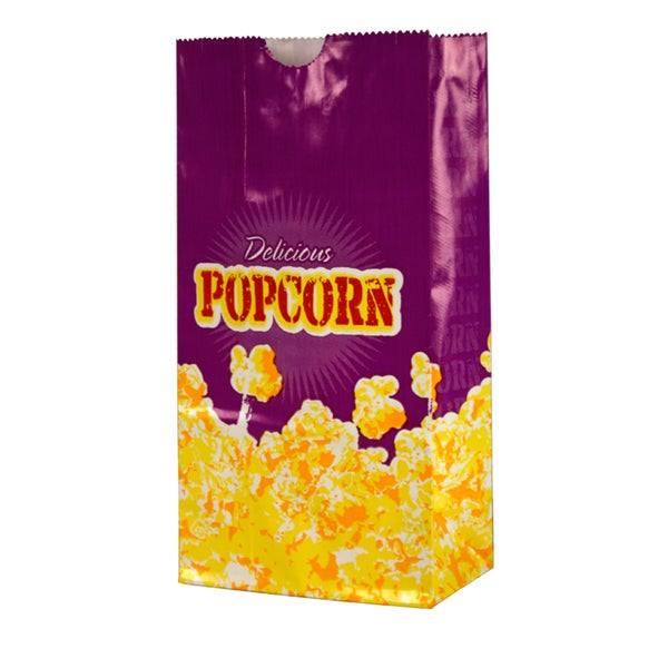 Paragon Small 1.5-ounce Popcorn Bags (Case of 100)