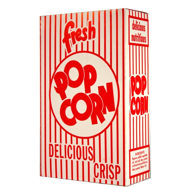 Paragon Small 0.74-ounce Classic Popcorn Boxes (Case of 100)