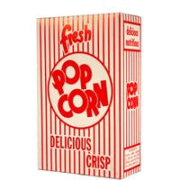 Paragon Medium Classic 0.95-ounce Popcorn Boxes (Case of 100)