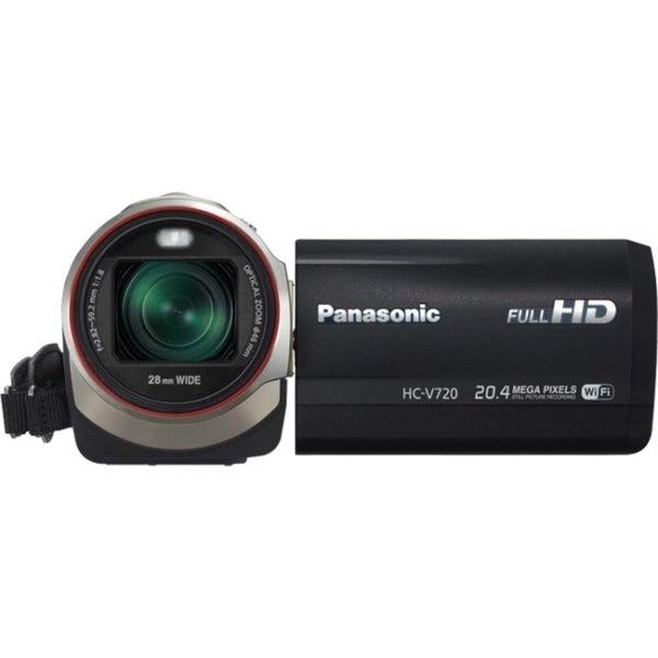 "Panasonic HC-V720 Digital Camcorder - 3"" LCD - MOS - Full HD"