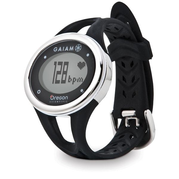 Oregon Scientific Heart Rate Black Monitor Watch