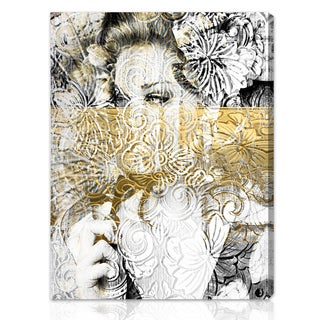 'Bloom' Hand-stretched Canvas Art