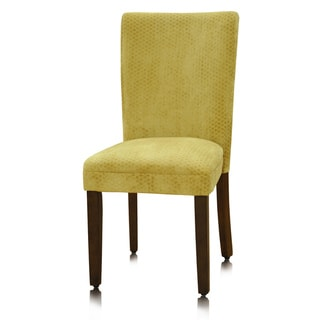 Parsons Yellow Gold Diamond Dining Chairs (Set of 2)